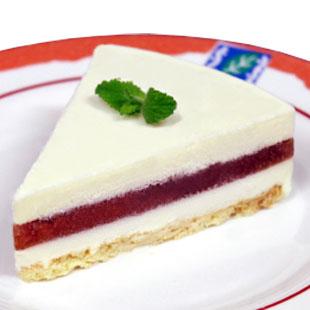 ルバーブチーズケーキのイメージ